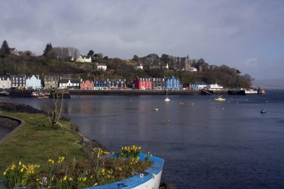 The colourful buildings of Tobermory