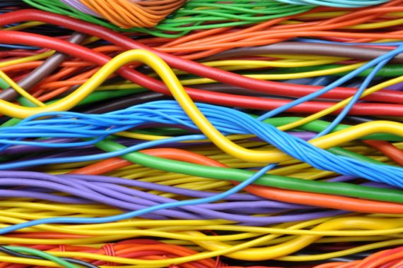 Colourful data cables